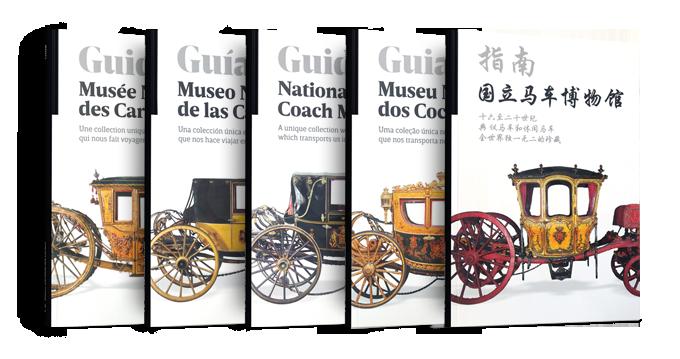Novos guias do museu nacional dos coches